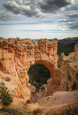 Photograph - Bryce Canyon Natural Bridge by Kathleen Scanlan