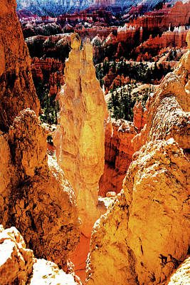 Photograph - Bryce Canyon by Norman Hall