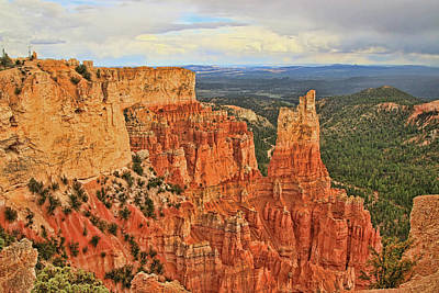 Photograph - Bryce Canyon 5 - Sheep Creek Swamp Point by Allen Beatty