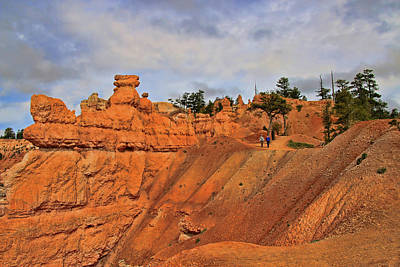 Photograph - Bryce Canyon 8 - Sunrise Point by Allen Beatty