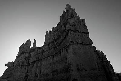 Photograph - Bryce Canyon Np IIi Bw by David Gordon