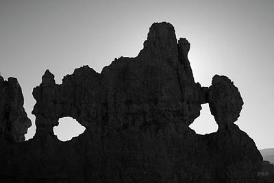 Photograph - Bryce Canyon Np Iv Bw by David Gordon