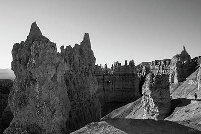 Photograph - Bryce Canyon Np V Bw by David Gordon