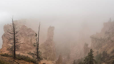 Photograph - Bryce Canyon Obscured by Belinda Greb