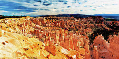 Photograph - Bryce Canyon Overlook by Norman Hall