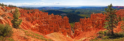 Photograph - Bryce Canyon Panorama by Bob Coates