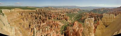 Bryce Canyon Panorama Art Print