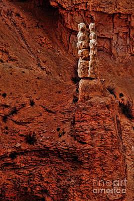 Photograph - Bryce Canyon Rock Couple by Blake Richards