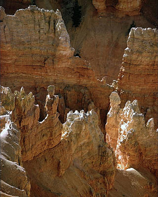 Photograph - Bryce Canyon Spires by Jeff Brunton