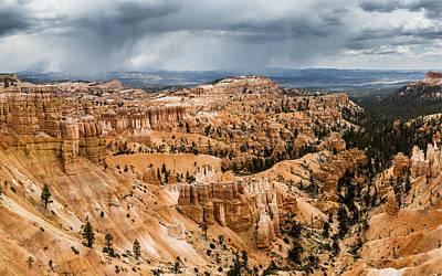 Photograph - Bryce Canyon Storm by Jason Roberts