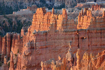 Print featuring the photograph Bryce Canyon Sunrise 2016a by Bruce Gourley