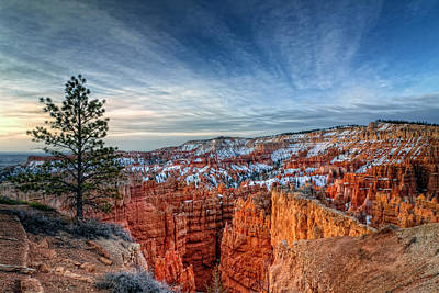 Photograph - Bryce Canyon Sunrise by Van Sutherland