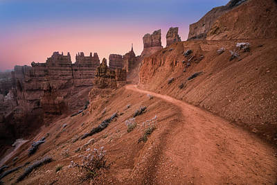 Las Vegas Photograph - Bryce Canyon Sunset by Larry Marshall