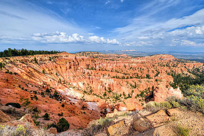 Photograph - Bryce Canyon - Sunset Point by Mark Whitt