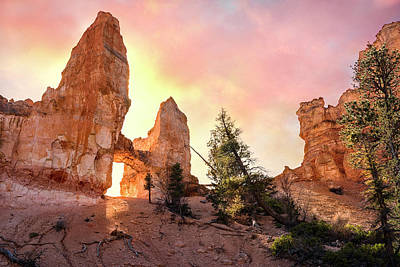 Photograph - Bryce Canyon - Tower Bridge by Expressive Landscapes Fine Art Photography by Thom