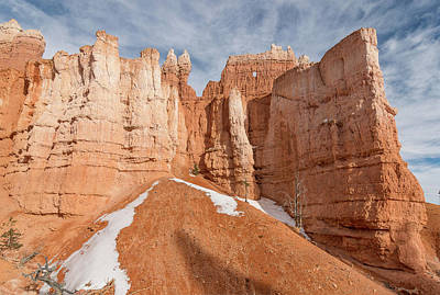Photograph - Bryce Hoodoo Facade by Greg Nyquist