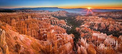 Photograph - Bryce Inspiration Panorama by Inge Johnsson