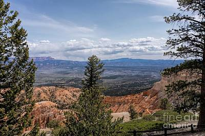 Photograph - Bryce Landscape by Peggy Hughes