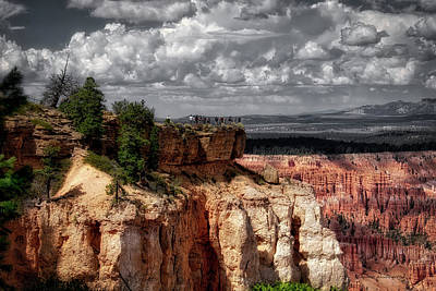 Photograph - Bryce Point Bryce Canyon Utah 01 Sc 01 by Thomas Woolworth