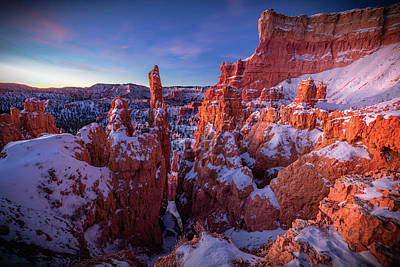 Escalante Photograph - Bryce Tales by Edgars Erglis