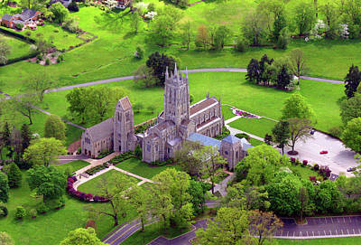 Photograph - Bryn Athyn Cathedral 4 by Duncan Pearson