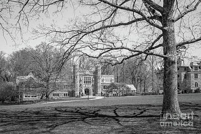 Student Union Photograph - Bryn Mawr College Campus Center by University Icons