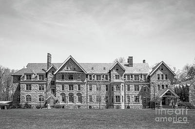 Diploma Photograph - Bryn Mawr College Merlon Dormatory by University Icons