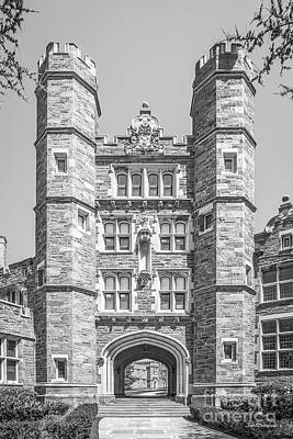 Bryn Mawr College Rockefeller Hall Art Print by University Icons