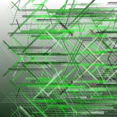 Horizontal Digital Art - Bs.1.23 by Gareth Lewis