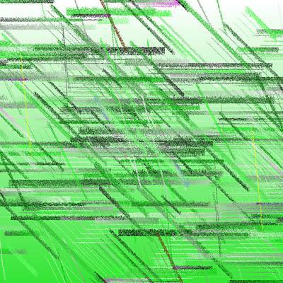 Horizontal Digital Art - Bs.1.24 by Gareth Lewis