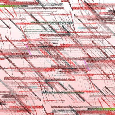 White Background Digital Art - Bs.1.9 by Gareth Lewis