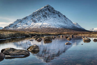 Glencoe Photograph - Buachaille Etive Mor In Glencoe  by Will Goodwin