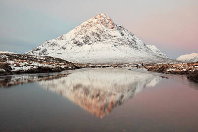 Photograph - Buachaille Morning Sunrise by Grant Glendinning