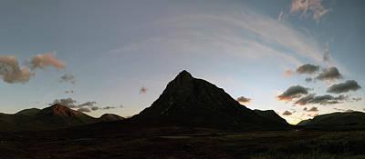Photograph - Buachaille Panorama by Grant Glendinning