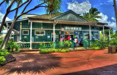 Photograph - Bubbas Burgers Too Poipu Beach Kauai Collection Art by Reid Callaway