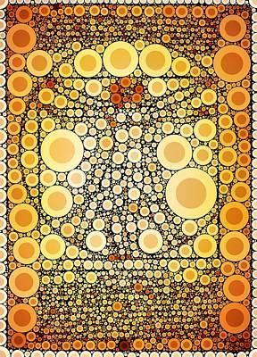 Bubble Art Da Vinci Art Print