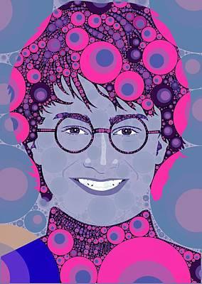 Bubble Art Potter Art Print