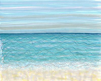 Painting - Bubble Beach by Regina Valluzzi
