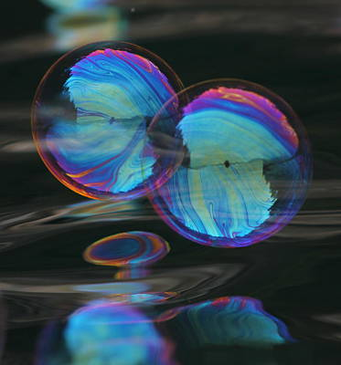 Photograph - Bubble Blues by Cathie Douglas