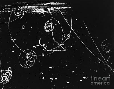 Propane Photograph - Bubble Chamber by Rad. Lab./Omikron