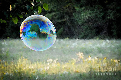 Photograph - Bubble by Cheryl McClure