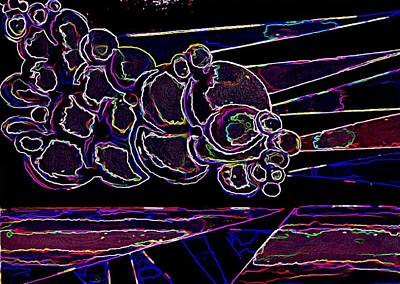 Bubble Cloud IIi Art Print by Gwen Curry