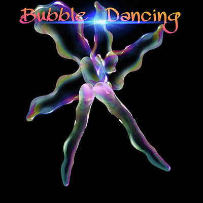 Digital Art - Bubble Dancing by Gayle Price Thomas