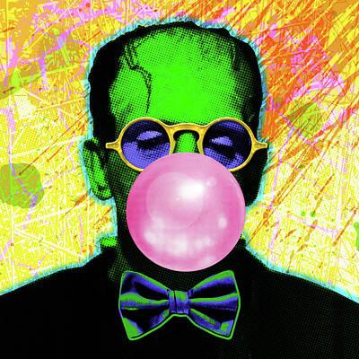 Digital Art - Bubble Gum Bubble by Gary Grayson