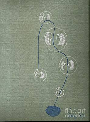 Drawing - Bubble Lamp by Rod Ismay