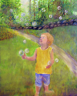 Painting - Bubble Magic by Loretta Luglio