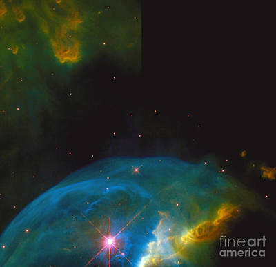 Bubble Nebula Art Print by Space Telescope Science Institute / NASA