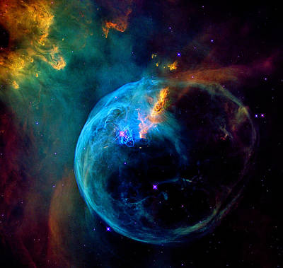 Photograph - Bubble Nebula by Weston Westmoreland