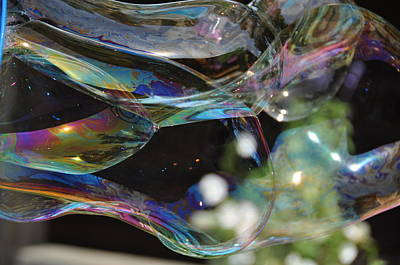 Photograph - Bubble Reflections by Jan Amiss Photography