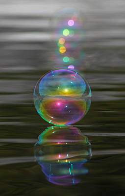 Photograph - Bubble Shazam by Cathie Douglas